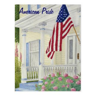 Orgullo americano - personalizable tarjetas postales