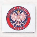 Orgullo americano polaco tapetes de ratones