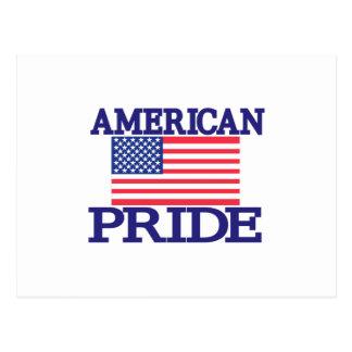 Orgullo americano tarjetas postales