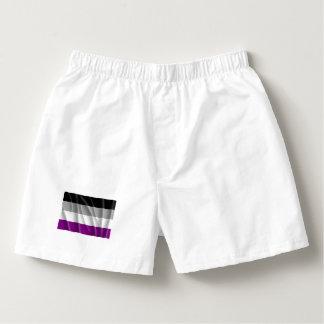 Orgullo asexual calzoncillos