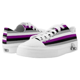Orgullo asexual zapatillas