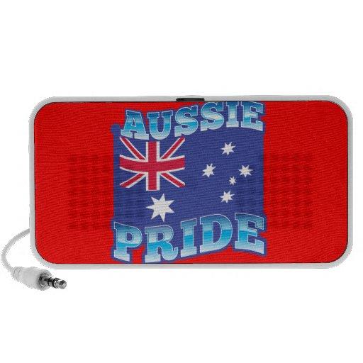 ORGULLO AUSTRALIANO con una bandera australiana PC Altavoces