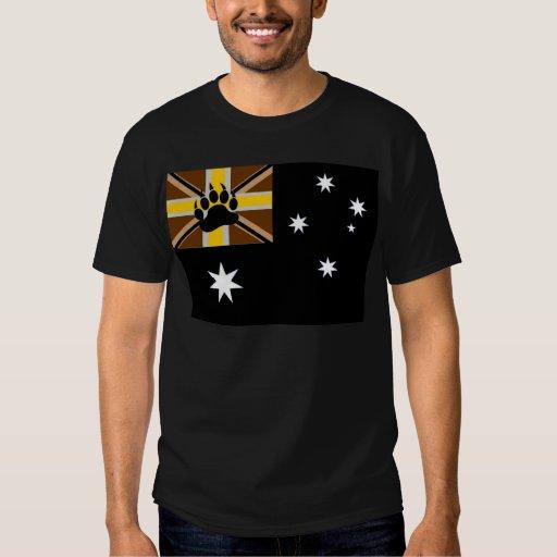 Orgullo australiano del oso playera