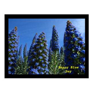 Orgullo azul de Madeira Tarjeta Postal