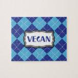 Orgullo azul del vegano de Argyle Puzzles