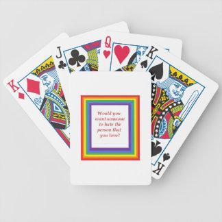 orgullo baraja de cartas