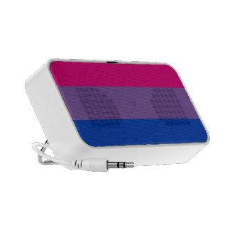 Orgullo bisexual iPod altavoz