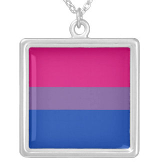 Orgullo bisexual colgante personalizado