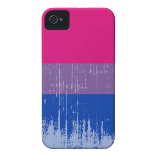 Orgullo bisexual distressed.png iPhone 4 Case-Mate protector