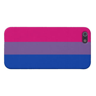 Orgullo bisexual iPhone 5 fundas