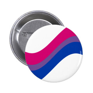 Orgullo bisexual pin redondo de 2 pulgadas
