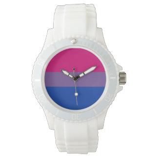 Orgullo bisexual relojes