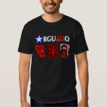 Orgullo Boricua 3 Icons Shirt