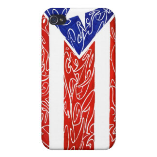 Orgullo boriqua iPhone 4 case