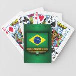 Orgullo brasileño cartas de juego