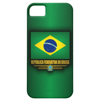 Orgullo brasileño iPhone 5 carcasas