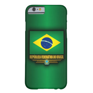Orgullo brasileño funda de iPhone 6 barely there