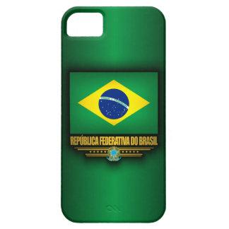 Orgullo brasileño funda para iPhone 5 barely there