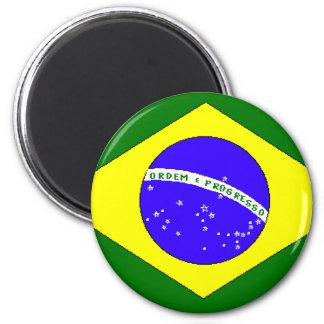 Orgullo brasileño imán para frigorifico