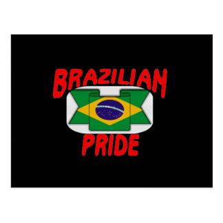 Orgullo brasileño postal