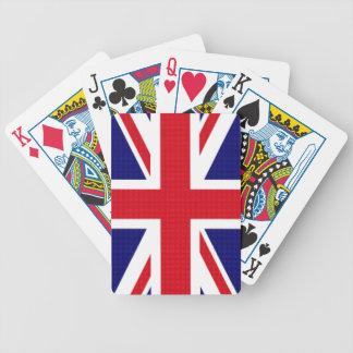 Orgullo británico cartas de juego