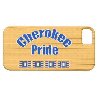 Orgullo cherokee intrépido iPhone 5 carcasa