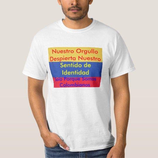 orgullo colombia T-Shirt