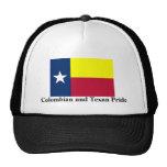 Orgullo colombiano y del Texan Gorra