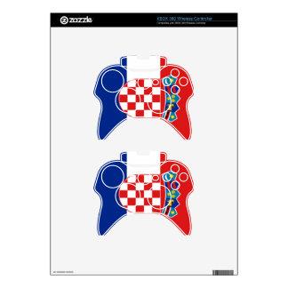¡Orgullo croata! Mando Xbox 360 Calcomanía