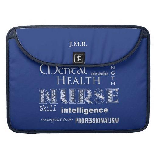 """Orgullo-Cualidades/Blueberry-15 de la enfermera """" Funda Para Macbooks"""