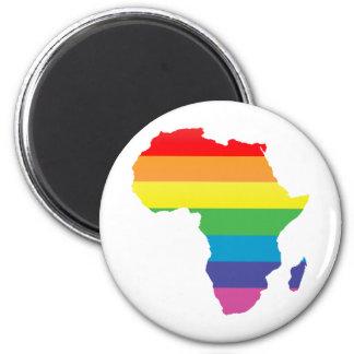 orgullo de África Imán Redondo 5 Cm