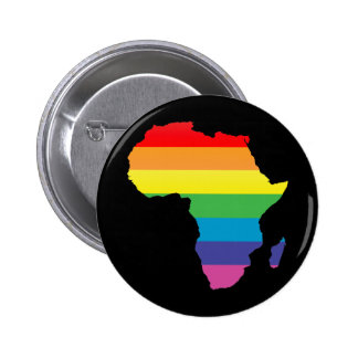 orgullo de África Pin Redondo De 2 Pulgadas