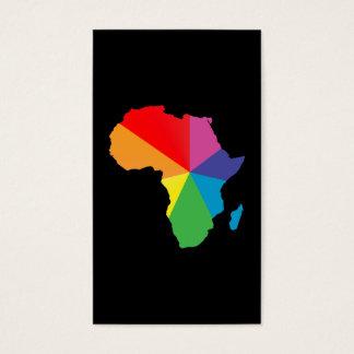 orgullo de África Tarjetas De Visita