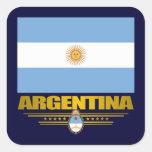 """Orgullo de Argentina "" Pegatina Cuadrada"