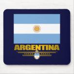 """""""Orgullo de Argentina """" Tapetes De Ratón"""