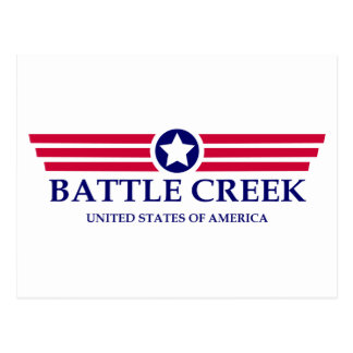Orgullo de Battle Creek Tarjeta Postal