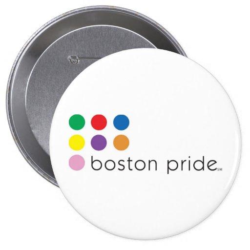 Orgullo de Boston enorme Pins