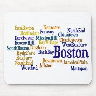 Orgullo de Boston Mouse Pad