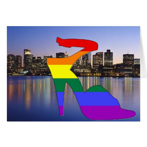 Orgullo de Boston Tarjeta De Felicitación