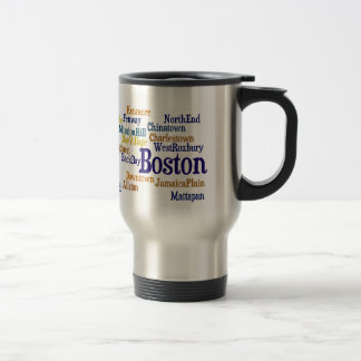 Orgullo de Boston Taza De Viaje De Acero Inoxidable