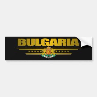 Orgullo de Bulgaria Pegatina De Parachoque