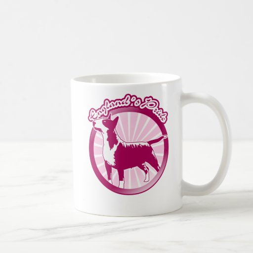 Orgullo de bull terrier Englands Taza Básica Blanca