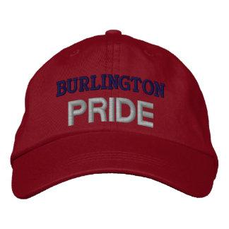 Orgullo de Burlington Gorra De Beisbol