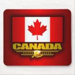 Orgullo de Canadá Alfombrillas De Ratones