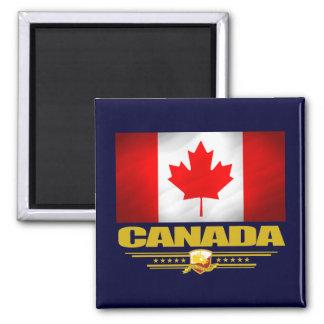 Orgullo de Canadá Imán Cuadrado