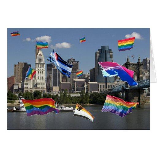 Orgullo de Cincinnati Felicitación