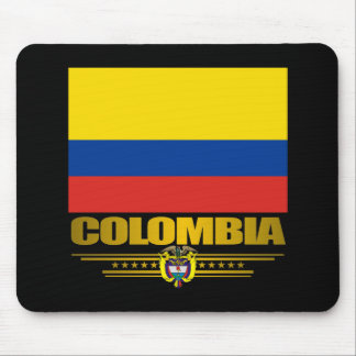 """""""Orgullo de Colombia """" Alfombrillas De Ratón"""