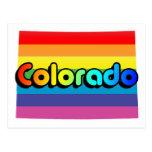 orgullo de Colorado Tarjetas Postales
