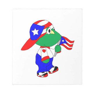 Orgullo de Coqui Puerto Rico Blocs De Papel