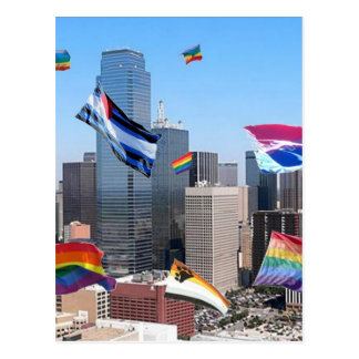 Orgullo de Dallas Tarjetas Postales